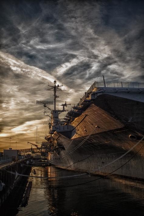 USS Hornet, Alameda, CA