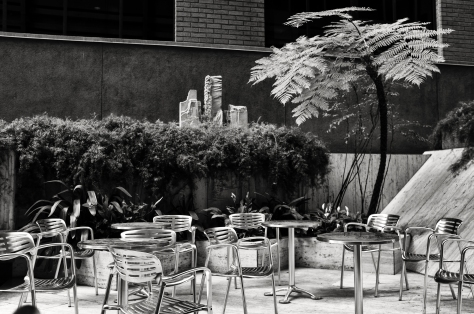 Quiet Patio, 100 Pine Street, San Francisco