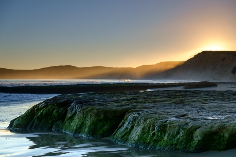 Drakes Beach Last Light
